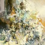 Sans titre huile sur toile, 130x97cm, 2004