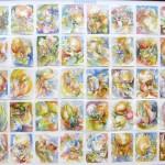 Clepsydre,  50 aquarelles 12x16cm, 2009-2010