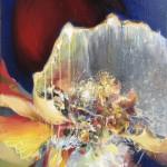 Sans titre, huile sur toile, 116x89cm, 2009