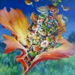 sans titre,A06, huile sur toile,81x65 cm, fev13
