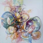 bulles, aquarelle, 25x32.5cm, 2013