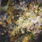 Lune, huile sur toile 130x97cm, 2006