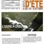 invitation à  l'usine de Jean Zabukovec