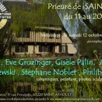 invitation St Arnoult, invitations d'artistes 2013 mail
