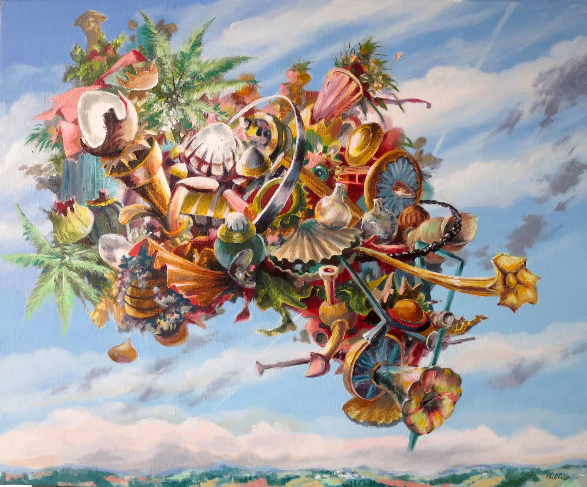 Linvitation au voyage2015 philibert attraction universelle huile sur toile 73x60cm nov 2014 stopboris Gallery