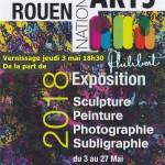 Rouen National arts invitation